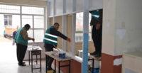 Denetimli serbestlik yükümlüleri yarıyıl tatilinde okulları boyuyor