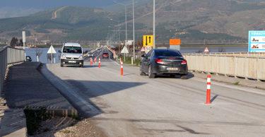Havalimanı yolu trafiğe açıldı