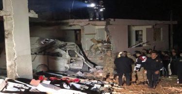 Hatay'da bir binada patlama meydana geldi