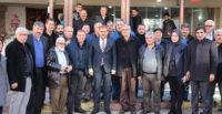 İBRAHİM GÜLER,İSKENDERUN'DA İŞ DÜNYASI İLE BİR ARAYA GELDİ