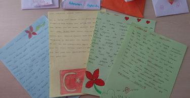 Öğrencilerinden, Mehmetçiğe Moral Mektubu