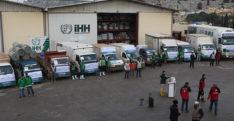 Suriye'deki sel mağdurlarına yardım konvoyu