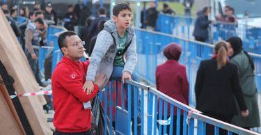 Engelli çocuğun Erdoğan aşkı