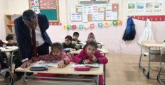 İlçe Kaymakamı  Murat Kütük Okullarda İncelemelerde bulundu