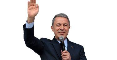 """Milli Savunma Bakanı Hulusi Akar """"Kürtler bizim kardeşlerimizdir"""""""