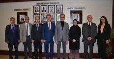 Ticaret Bakanlığından gelen uzman heyeti İTSO'yu ziyaret etti