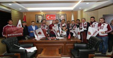 AK Parti'den Spora ve Sporcuya Destek