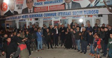 CUMHUR İTTİFAKINA KIRIKHAN'DAN TAM DESTEK!