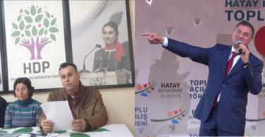 """HATAY HDP """"LÜTFÜ SAVAŞ İLE PAZARLIĞIMIZ DEVAM EDİYOR"""""""