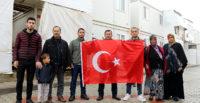 Suriyeli Türkmen genç, asker ocağına uğurlandı