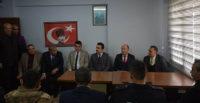 Bülent Uygur, Zeytindalı Anadolu Lisesi'ni Ziyaret Etti