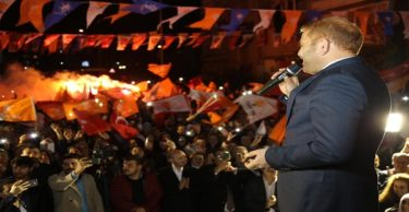 """İbrahim Güler, """"Benim Yolum Ak Parti Kırmızı Çizgi Recep Tayip Erdoğan """""""