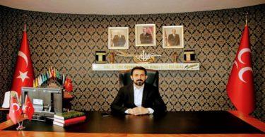 MHP Hatay İl Başkanı Murat Adal;