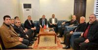 Şanverdi  Ve Güler, Bülent Uygur'u Ziyaret  Etti