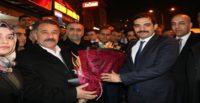 Ülkü Ocakları Genel Başkanı Sinan ATEŞ Belen'de