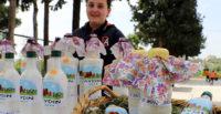 """Öğrenciler ürettikleri ürünleri """"organik pazar""""da satıyor"""