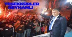 Mehmet Hacıoğlu'ndan Teşekkür Mesajı