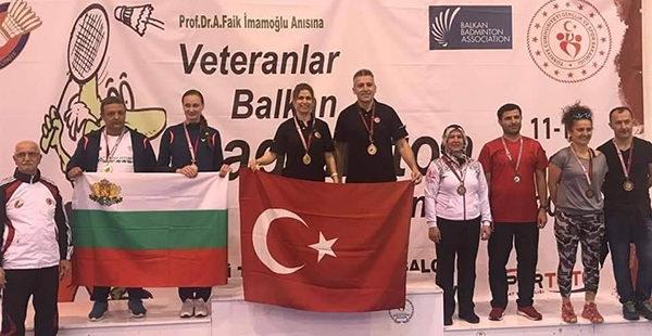 Çifte Balkan Şampiyonluğuyla Gururlandırdı
