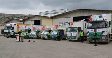 Sel Mağdurlarına Yardım Konvoyu