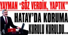 """YAYMAN """"SÖZ VERDİK, YAPTIK"""""""