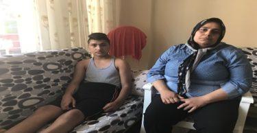 Trafik kazasında engelli kalan öğrenci yardım bekliyor