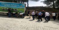 Hareket halindeki kamyonetten atlayan sürücü yaralandı