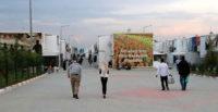 Hatay'da konteyner kentte ilk iftar