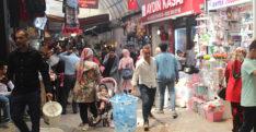 Uzun Çarşı'da Ramazan hareketliliği