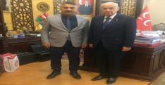Başkan Taşçı'dan Devlet Bahçeli'ye ziyaret