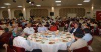 Kırıkhan Kaymakamlığı Şehit Ailelerine, Gazilere ve Gazi Ailelerine iftar yemeği verdi