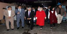Vali Doğan, Türkmenlerle iftarda buluştu