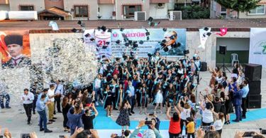 Kültür Koleji Öğrencileri Kep Attı