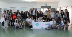 Erasmus projesi katılımcıları İtalya'dan döndü