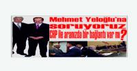 Mehmet Yeloğlu'na soruyoruz CHP ile aranızda bir bağlantı var mı?