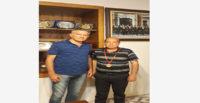 Ayhan Duman'dan HGC Başkanı Ahmet Yetişen'e ziyaret
