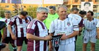 """Eski Beşiktaşlı futbolculardan Hatay'da """"dostluk"""" maçı"""