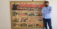 Suriyeli sanat tarihçisi 15 Temmuz'u mozaikle anlattı