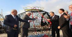 İskenderun körfezinde 'Çevreci Balıklar Sahili Temizliyor' projesi hayata geçti