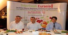 Interfresh Eurasia Fuar'ı Hatay'da tanıtıldı