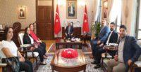 Vali Rahmi Doğan'a ziyaret