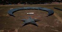 Hatay'a 12 bin 500 metrekarelik alan üzerine ay-yıldız figür