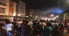 Reyhanlı'da derneğe ait depoda yangın