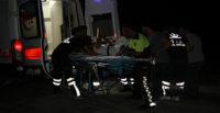 Kaçak mültecilerle yaşanan kovalamacada bir polis yaralandı