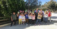Hatay'da çocuklardan sokak hayvanlarına destek