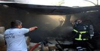 Tüp patlamasından çıkan yangın söndürüldü