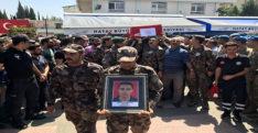 Şehit polis Ali Uçar son yolculuğuna uğurlandı