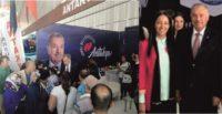 AK Parti Hatay Milletvekili Sabahat Özgürsoy Çelik  ve Antakya Belediye Başkanı İzzettin Yılmaz