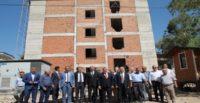 AK Parti Hatay Milletvekili Yayman'dan, okul inşaatlarında inceleme