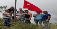 Gençlerin vatan sevgisi zirveye bayrak diktirdi
