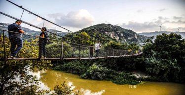 Asma köprüye ziyaretçi ilgisi